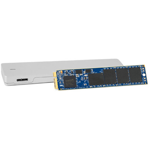 OWC / Other World Computing 480GB Aura Pro Solid State Drive and Envoy Storage Solution