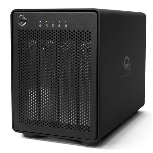 OWC / Other World Computing ThunderBay 4 24TB (4 x 6TB) Four-Bay Thunderbolt RAID Array (JBOD Edition)