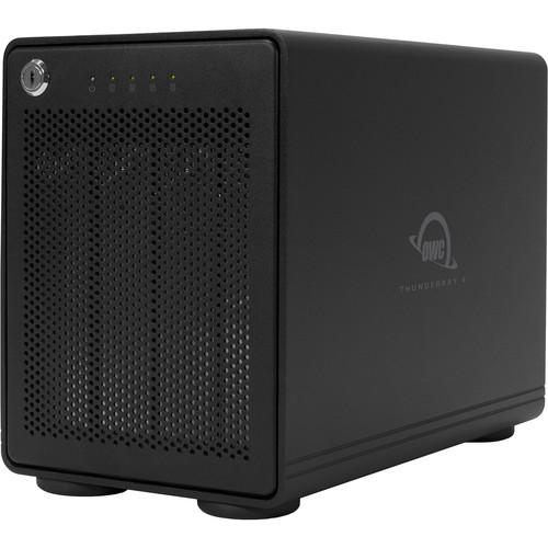 OWC / Other World Computing 48 TB Thunderbay 4, 4-Drive HDD with Dual Thunderbolt 2 Ports, Raid-Ready JBod Solution