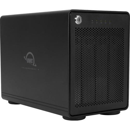 OWC ThunderBay 4 24TB 4-Bay Thunderbolt 2 RAID Array (4 x 6TB, RAID 5 Enterprise Edition)