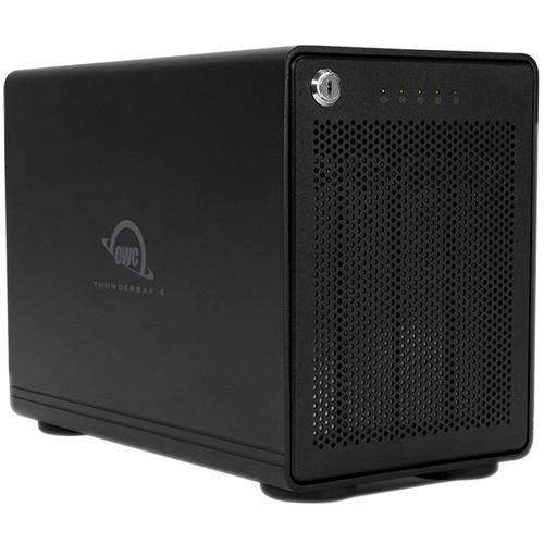 OWC ThunderBay 4 56TB 4-Bay Thunderbolt 2 RAID Array (4 x 14TB, RAID 5 Enterprise Edition)