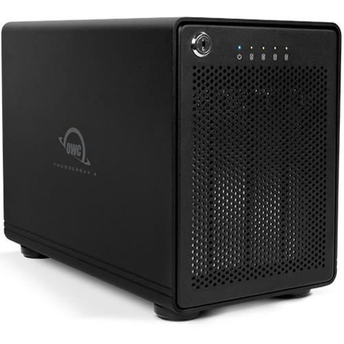 OWC ThunderBay 4 24TB 4-Bay Thunderbolt 2 RAID Array (4 x 6TB, RAID 5 Edition)