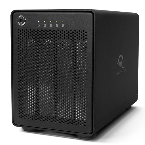 OWC / Other World Computing ThunderBay 4 40TB 4-Bay Thunderbolt 2 RAID Array (4 x 10TB, RAID 5 Edition)
