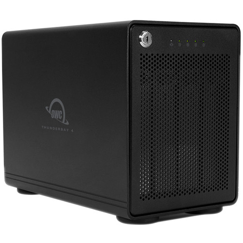 OWC / Other World Computing 56TB  Thunderbay 4 Four-Drive Hdd With Dual Thunderbolt 2 Ports Raid 5 Solution