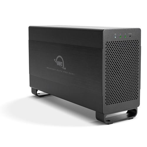 OWC / Other World Computing Mercury Elite Pro Dual 6TB 2-Bay Thunderbolt 2 RAID Array (2 x 3TB)