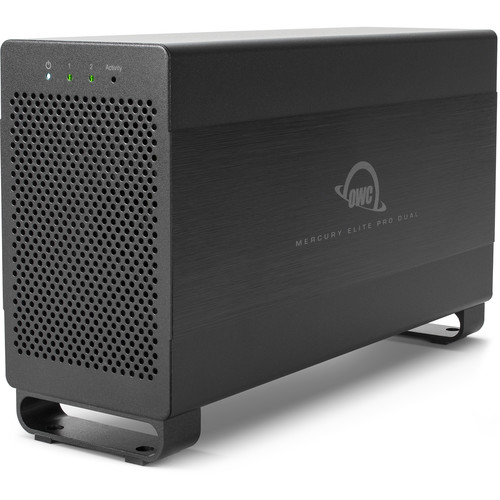 OWC Mercury Elite Pro Dual 12TB 2-Bay Thunderbolt 2 RAID Array (2 x 6TB)
