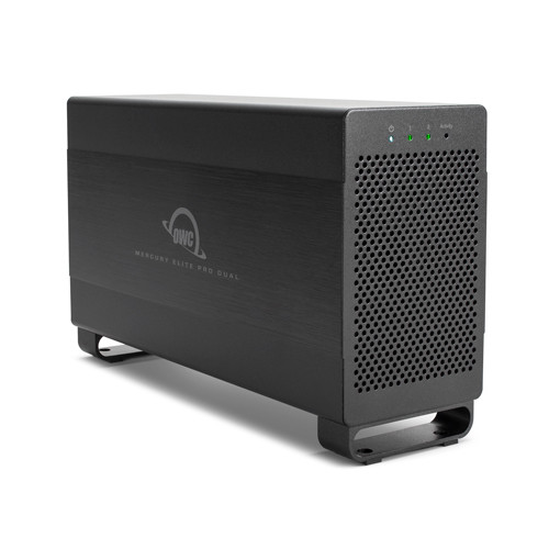 OWC / Other World Computing Mercury Elite Pro Dual 16TB 2-Bay Thunderbolt 2 RAID Array (2 x 8TB)