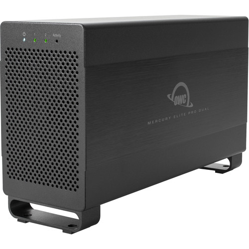 OWC Mercury Elite Pro Dual 24TB 2-Bay Thunderbolt 2 RAID Array (2 x 12TB)
