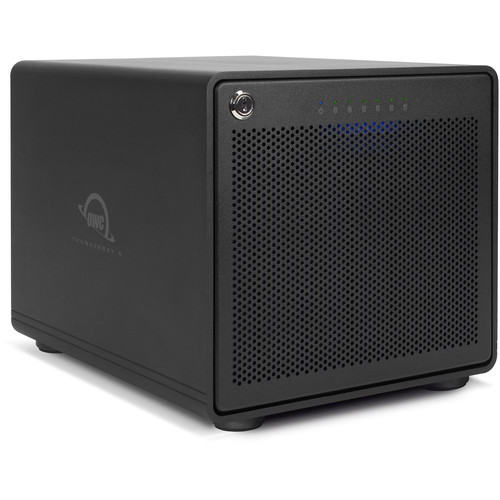 OWC ThunderBay 6 48TB 6-Bay Thunderbolt 3 RAID 0 Array (6 x 8TB)