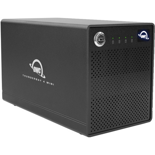 OWC 8TB ThunderBay 4 mini 4-Drive SSD Thunderbolt 3 RAID 0 Array