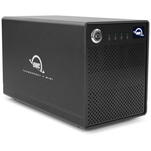 OWC 4TB ThunderBay 4 mini 4-Drive SSD Thunderbolt 3 RAID 5 Array