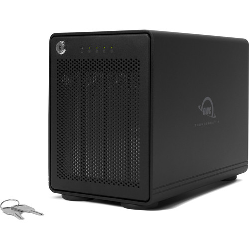 OWC / Other World Computing 8Tb Thunderbay Raid 4 Four-Drive Ssd External with Dual Thunderbolt 3 Ports