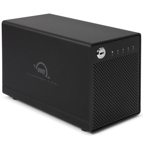 OWC / Other World Computing ThunderBay 4 Mini 2TB (4 x 500GB) Four-Bay Thunderbolt 2 Array (RAID 5 Edition)