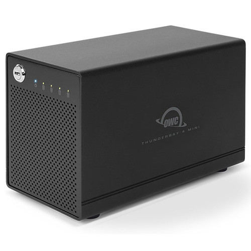 OWC / Other World Computing 40TB ThunderBay 4 mini 4-Bay Thunderbolt 2 RAID Array (4 x 10TB, RAID 4 Edition)