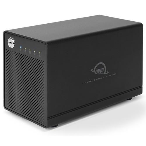 OWC / Other World Computing ThunderBay 4 mini TransWarp Edition 4TB 4-Bay Hybrid RAID Array (2 x 2TB)