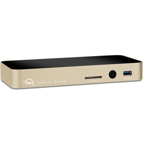 OWC / Other World Computing Multi-Function USB Type-C Dock (Gold)