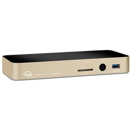 OWC / Other World Computing 11-Port USB Type-C Docking Station (Gold)