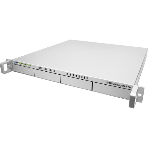 OWC / Other World Computing Mercury Rack Pro 16TB (4 x 4TB) Four-Bay 1U Rack SAS Storage Solution (Enterprise Edition)