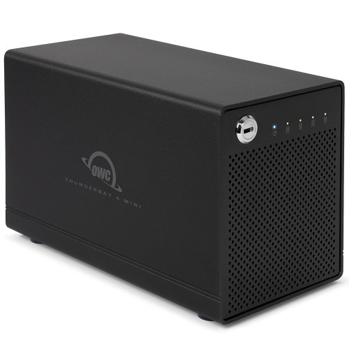 OWC / Other World Computing 8TB (4 x 2TB) Portable Thunderbay 4 Mini Four-Bay RAID 5 Enclosure Kit with Drives