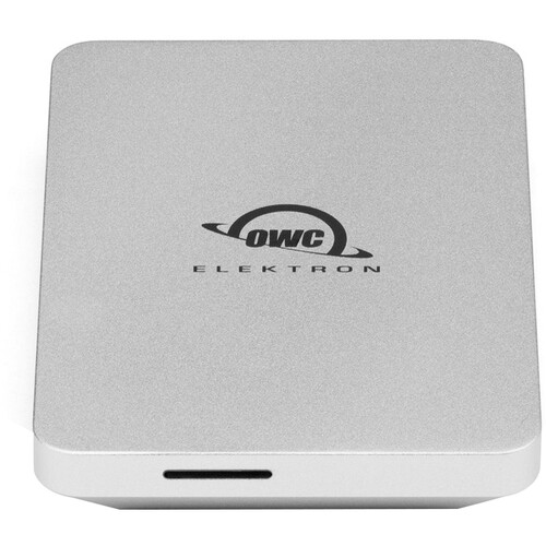 OWC 2TB Envoy Pro Elektron USB Type-C External SSD (Silver)