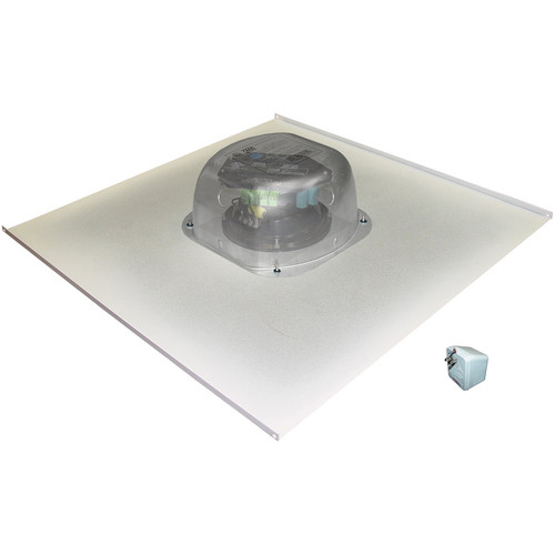 OWI Inc. Amplified Drop Ceiling Speaker on a 2x2 Metal Tile