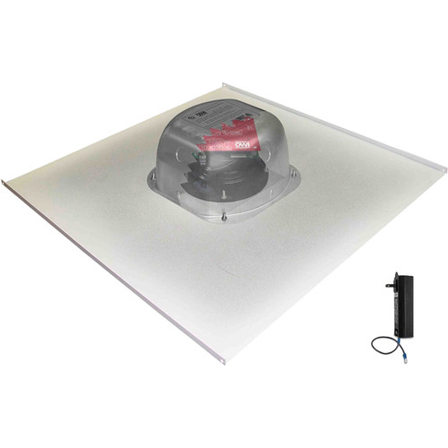 "OWI Inc. 6.5"" Amplified Drop-Ceiling Speaker on a 2 x 2' Tile"