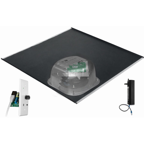 OWI Inc. 1-One Source,6 Amped Ceiling Speaker on a 2x2 Full Grill(1-Speaker Package/Bluetooth Volume Control)