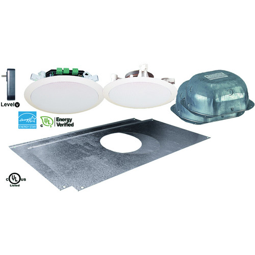 OWI Inc. AMP1SGRN2 Amplified 'Green' Drop Ceiling, 2 Speaker Combination Package