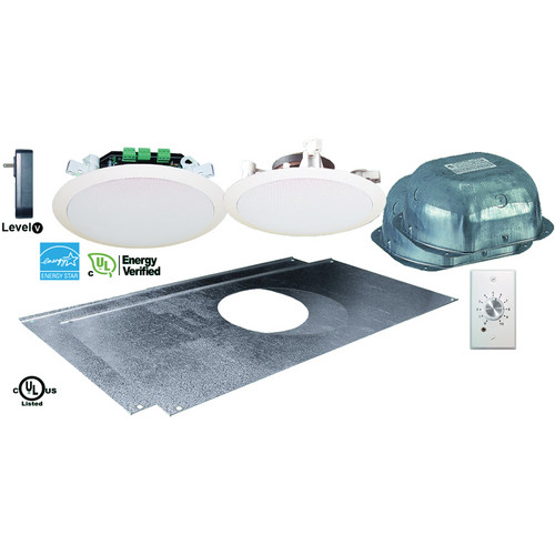OWI Inc. AMP1SGRN2SVC Amplified 'Green' Drop Ceiling, 2 Speaker Combination Package