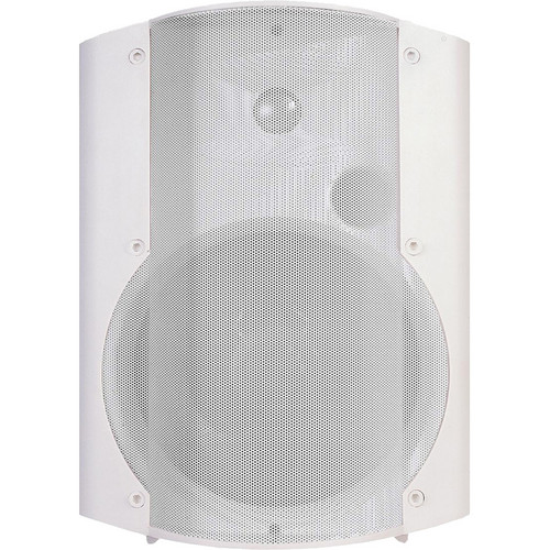 OWI Inc. Amplified Surface Mount Speaker with 115V Power Supply (White)