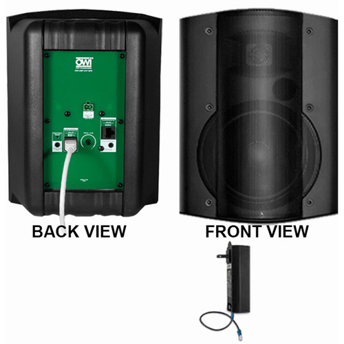 OWI Inc. 1 Each Amp-Cat602B Speaker (Black)