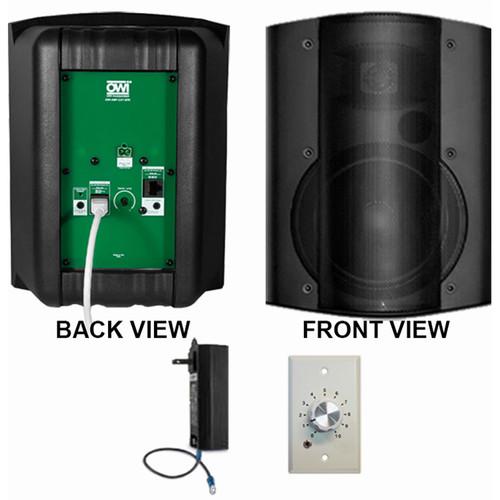 OWI Inc. 1 Each Amp-Cat602B Speaker (Black) W/ Ampstvc