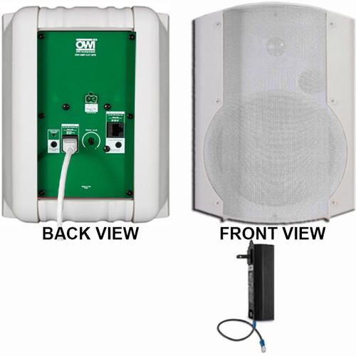 OWI Inc. 1 Each Amp-Cat602B Speaker (White)