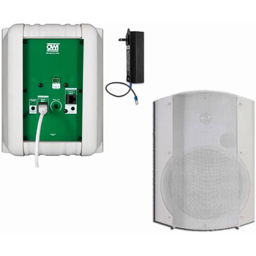 OWI Inc. 2 Each Amp-Cat602B Speaker (White)