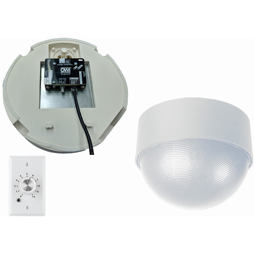 OWI Inc. 2 Each - Amp-Cat-Neptune Speaker (White) with Ampstvc