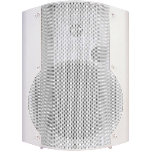 OWI Inc. Self-Amplified, Surface Mount, Low-Voltage Speaker Combo (White)