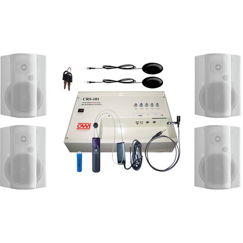 OWI Inc. CRS10162784W Speaker Package