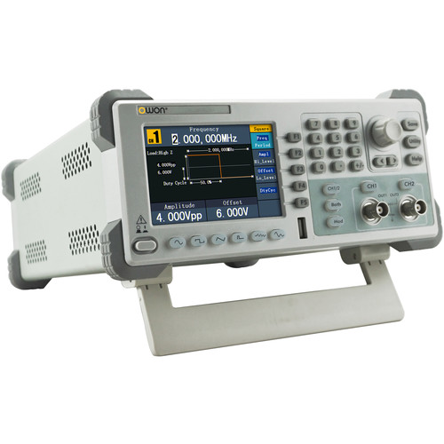 OWON Technology Dual-Channel Arbitrary Waveform Generator (10 MHz, 125 MSa/sec)