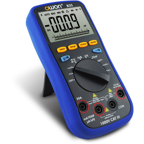 OWON Technology Bluetooth Digital Multimeter (True-RMS & Offline-Recording Functions)