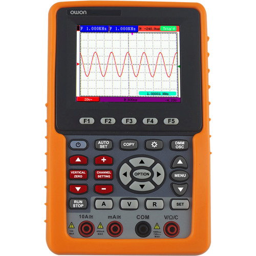 OWON Technology HDS-N Series 1-Channel Handheld Digital Storage Oscilloscope (60 MHz)