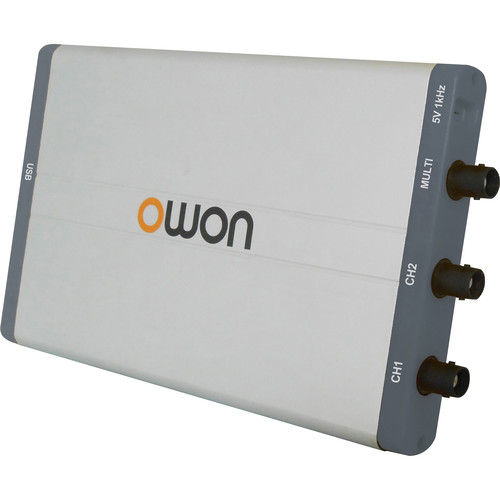 OWON Technology VDS-Series PC USB Oscilloscope (25 MHz, 2 Channels + Multi-Channel)