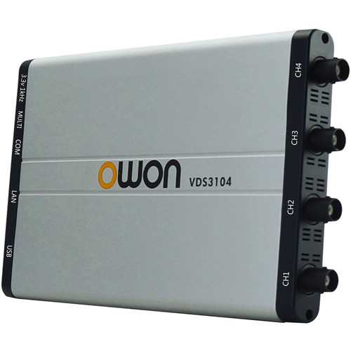 OWON Technology VDS-Series PC USB Oscilloscope (100 MHz, 4 Channels + Multi-Channel)