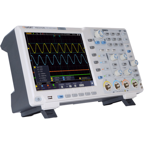 OWON Technology XDS3204E 4 Channel Digital Oscilloscope with Touch Screen