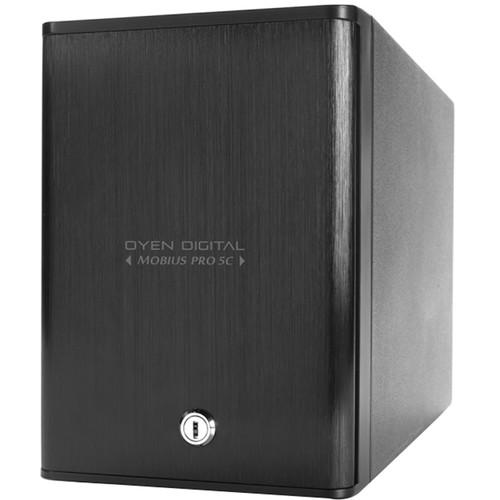 Oyen Digital 70TB Mobius Pro 5C 5-Bay USB Type-C External Drive Array with SoftRAID for MacOS