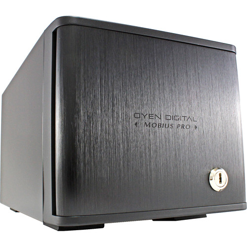 Oyen Digital 20TB Mobius Pro 2-Bay USB-C RAID HDD System (2 x 10TB)