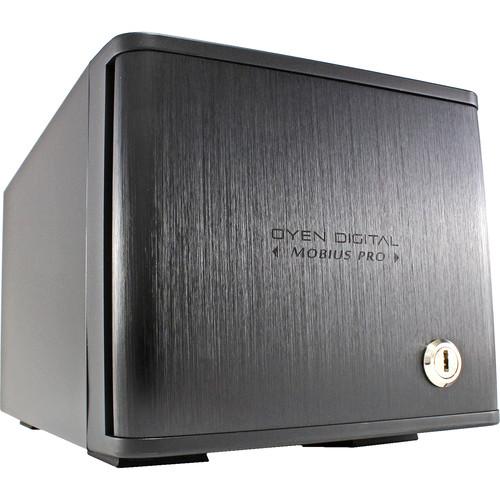 Oyen Digital 24TB Mobius Pro 2-Bay USB-C RAID HDD System (2 x 24TB)