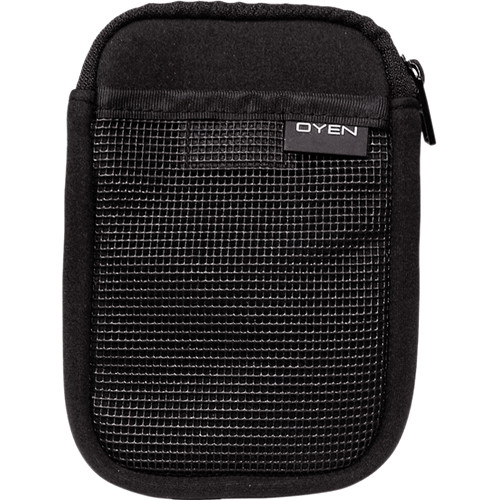 Oyen Digital Drive Logic DL-53 Soft Neoprene Portable Hard Drive Soft Pouch (Black)