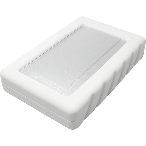 Oyen Digital MiniPro Dura USB-C Portable SSD (1TB, Silver/White)