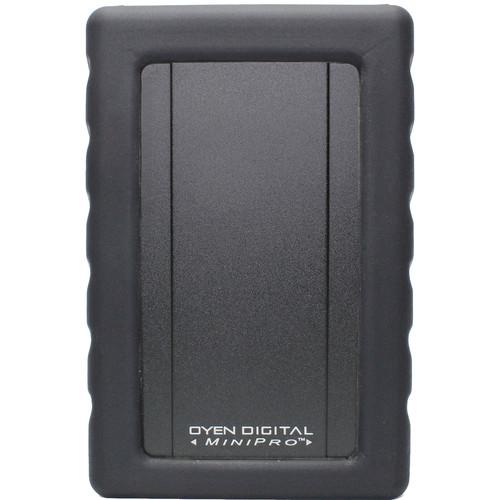Oyen Digital 250GB MiniPro Dura Rugged USB 3.1 Gen 2 Type-C External SSD (Black)