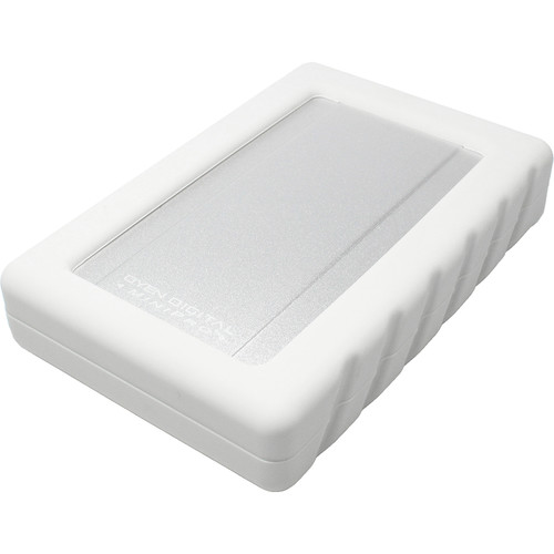 Oyen Digital MiniPro Dura USB-C Portable SSD (2TB, Silver/White)